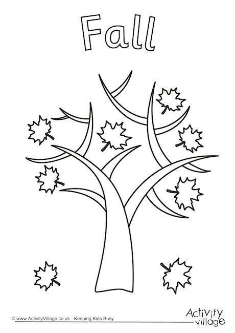fall coloring pages activities 61 best seasons autumn activities for kids images on