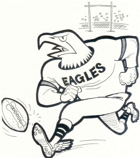 eagle mascot coloring pages eagles logo coloring pages coloring coloring pages
