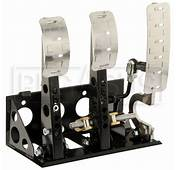 OBP Pro Race Floor Mount 3 Pedal Assembly Without MC