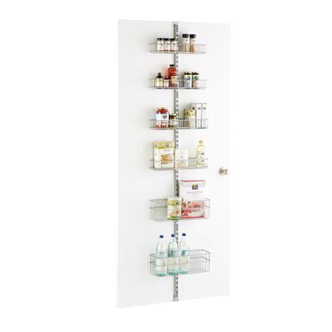 Pantry Wall Rack by Platinum Elfa Utility Pantry Door Wall Rack Solution