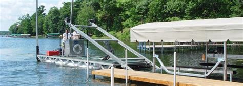 boat lift parts near me services northwoods dock