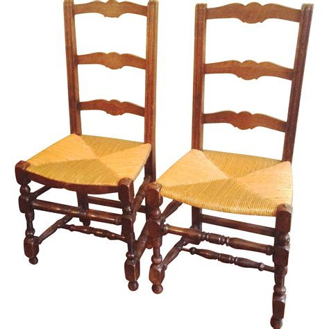 ladder back bench ladder back chairs with rush seats best chair decoration