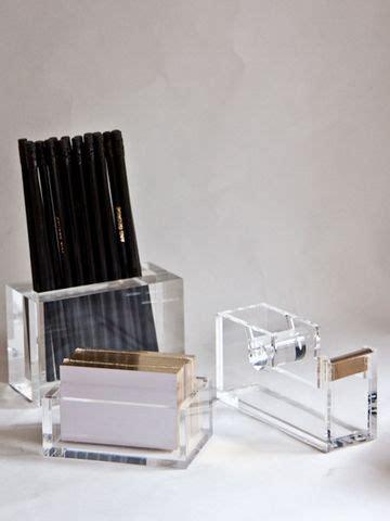 desk accessories acrylics and desks on pinterest
