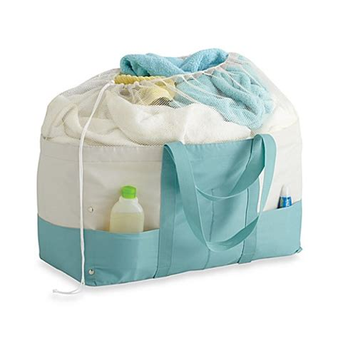 Real Simple 174 Laundry Tote Www Bedbathandbeyond Com Bed Bath And Beyond Laundry