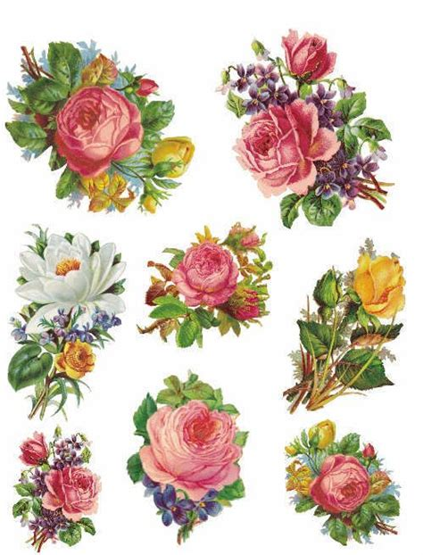 Decoupage Flowers - decoupage paper flowers 28 images flower decoupage 25