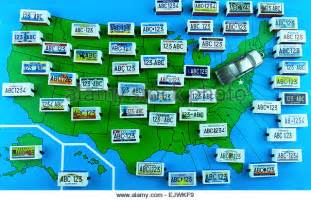 Pa Vanity Plate Map Usa State License Plates Stock Photos Amp Map Usa State