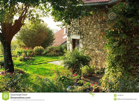 Westbury Garden by Old House And French Garden Stock Images Image 1419674