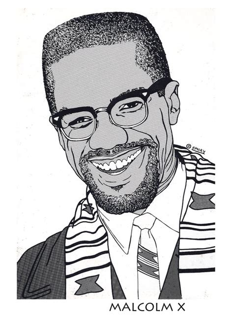 Coloring Page Of Malcolm X by Free Coloring Pages Of Malcom X
