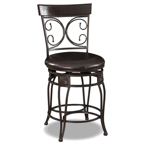 black counter height bar stools grandview counter height stool black value city furniture