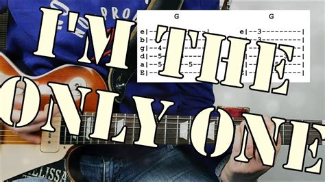 tutorial guitar i m not the only one i m the only one from melissa etheridge guitar tutorial
