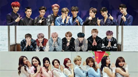 exo and twice exo s bts s and twice s values reportedly amount to 10