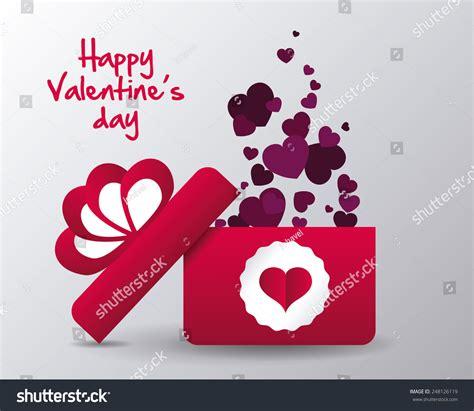 happy valentines day design vector illustration stock
