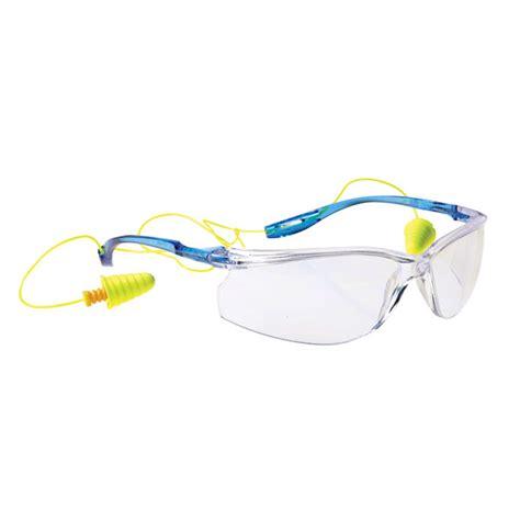3m virtua sport ccs earplug safety glasses antifog