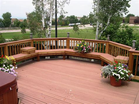 deck photos fabulous front yard decks and patios messmers