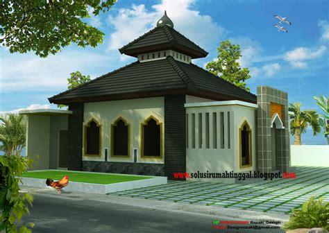 desain bangunan mushola mushola minimalis jasa gambar rumah