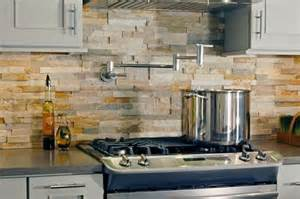 rock tile backsplash 29 cool and rock kitchen backsplashes that wow