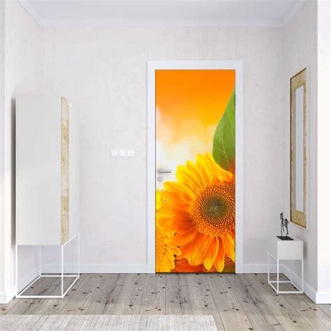 vinilos  puertas  armarios girasoles