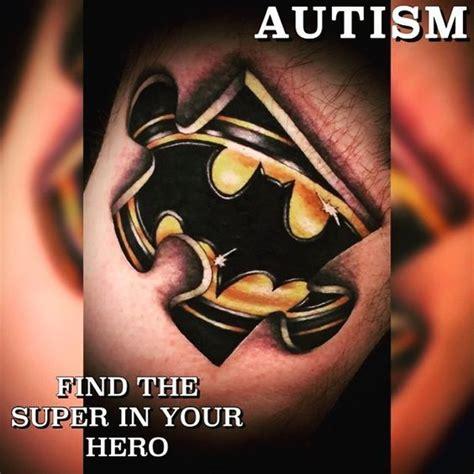 batman autism tattoo 29 best autism tattoo ideas images on pinterest autism