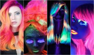 glow in the hair color forget glow sticks this glow in the hair dye trend
