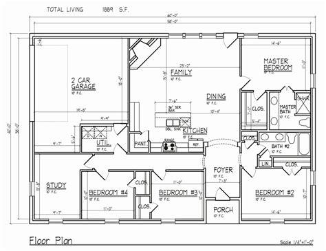 4 bedroom ranch floor plans wolfweyr