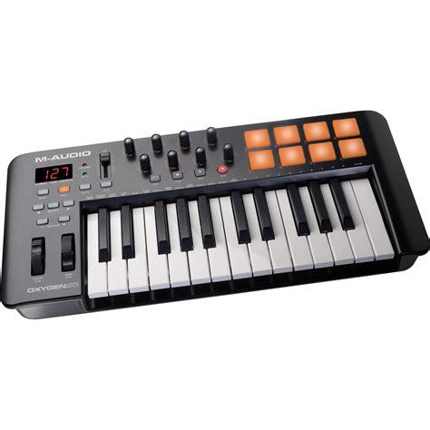 Keyboard Piano Usb m audio oxygen 25 iv usb midi keyboard controller oxygen25iv