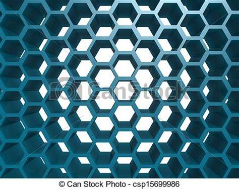 hexagonal 9inchx 3inch whitefriars blue blue hexagon pattern graphic instant csp15699986