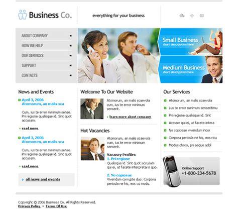 B2b Business Website Template Poweredtemplate Com B2b Business Template