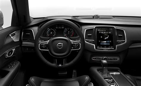 r design xc90 interior 2016 volvo xc90 t6 r design interior photo