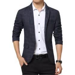 Slim fit blazer jacket men suit jacket the checked blazer h507 china