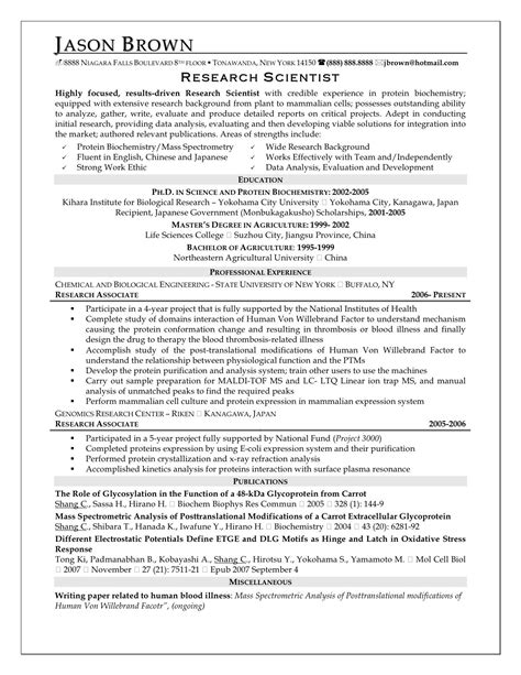 Homemaker Resume Sle by Peace Corps Sle Resume Research Resume Template