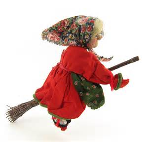 vintage kitchen witch luck charm german cloth doll by