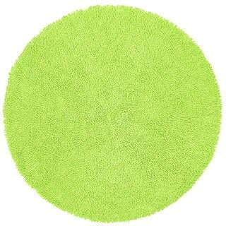 shop chenille green shag rug