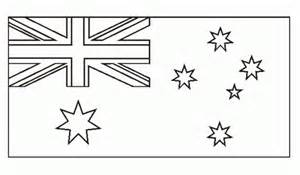 australia flag colors national flag of australia to color coloring pages