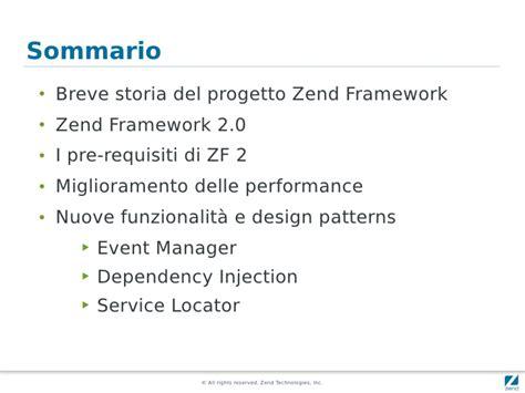 design pattern zend framework il pattern di zend framework 2