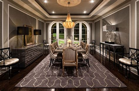 Mediterranean Dining Room Design Ideas 25 And Exquisite Gray Dining Room Ideas