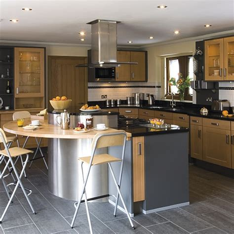 Wood And Stainless Steel Kitchen Island by Wood And Stainless Steel Kitchen Kitchen Design