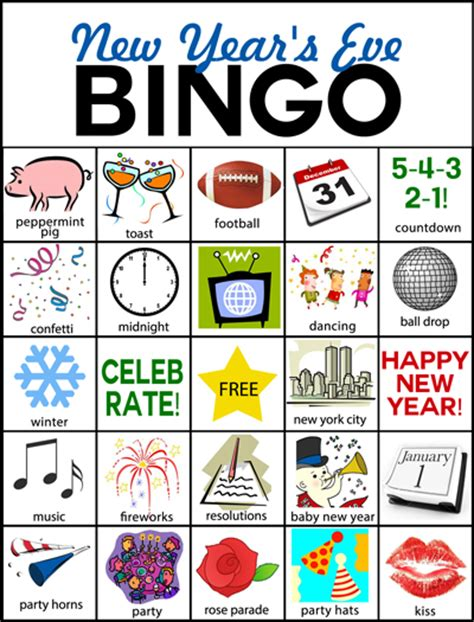 new year picture bingo click here to a pdf file