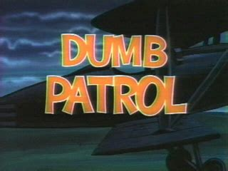 looney tunes title card template dumb patrol