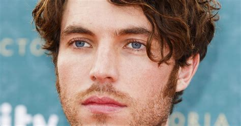 tom hughes navitor itv s victoria starring chester actor tom hughes hits