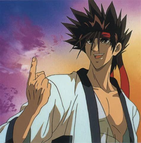 Kaos Sanosuke Sagara Samurai X sagara sanosuke rurouni kenshin character profile