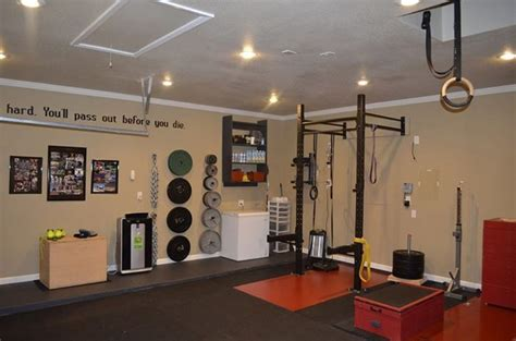 at home gym ideas nice at home gym from get rx d crossfit crossfit