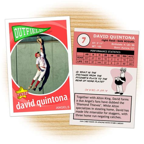Baseball Card Statistics Template by Baseball Card Template Mobawallpaper