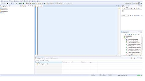 layout editor doesn t work eclipse eclipse not showing code in the java editor perspective
