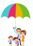 or shine my fathers umbrella how are fathers and umbrella alike books parents protect child with umbrella in royalty free