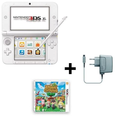 animal crossing 3ds console console 3ds xl animal crossing new leaf jeu 3ds achat