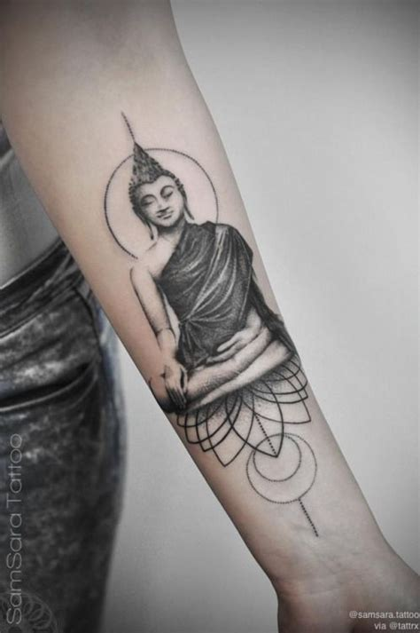 buddhist tribal tattoos 230 buddha tattoos for with meanings tattooset