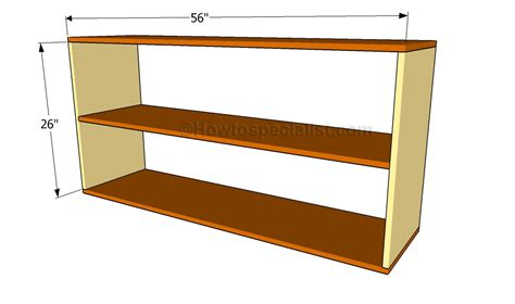 free bookcase plans howtospecialist how to build step