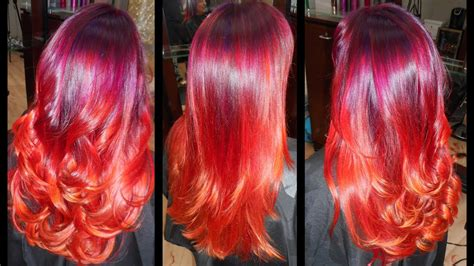 sunset hair color sunset hair color