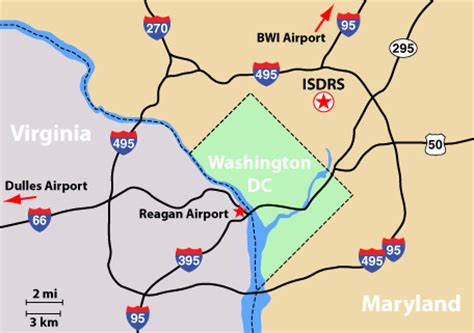maryland map airports isdrs 2011 travel information