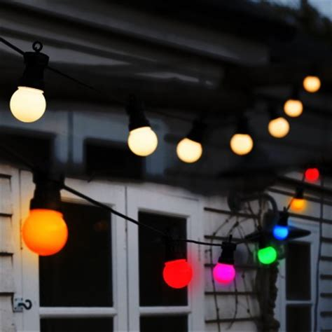 30x warm white home or garden party lights decorative led classic cafe style festoon lights